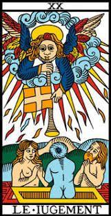 Arcano 20. El Juicio. Le Jugement. El Tarot de Marsella.
