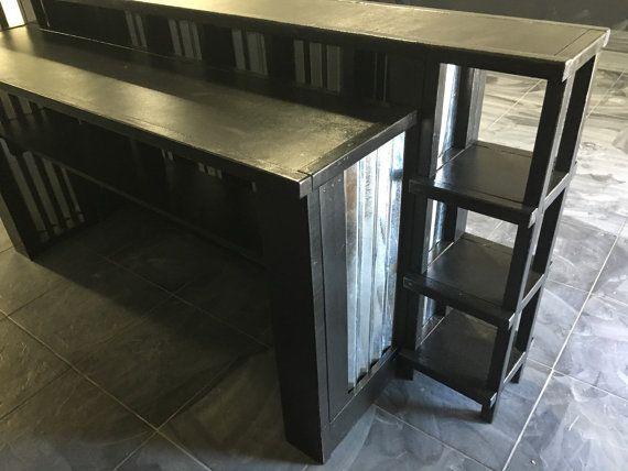 8' corrugado metal ventas mostrador o recepción con por BuyfooBARS