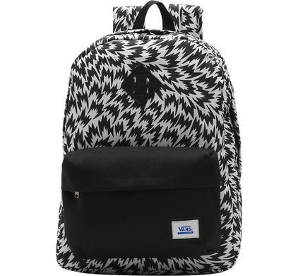M Old Skool II Backpack White/Black Flag - 1