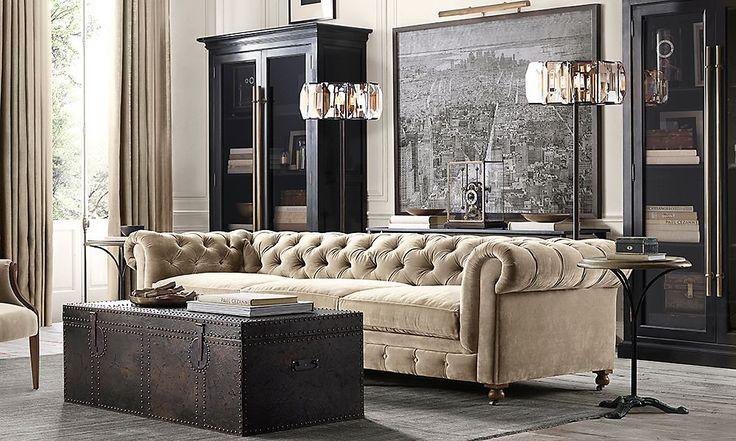 20 erstaunliche Wohnzimmer inspiriert von Restauri…