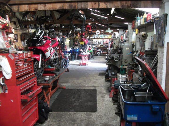 Man Cave Brats : Best images about bike garage shed workshop man cave