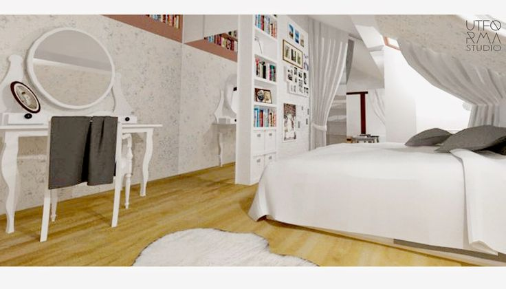 Jak zaprojektować sypialnie na poddaszu z duża ilością miejsca do przechowywania?
