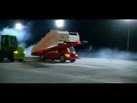 Cadbury Dairy Milk - Airport Trucks Advert