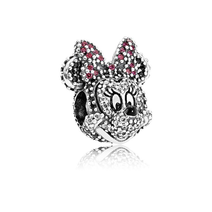 Disney, Sparkling Minnie Portrait - 791796NCK - Charms | PANDORA