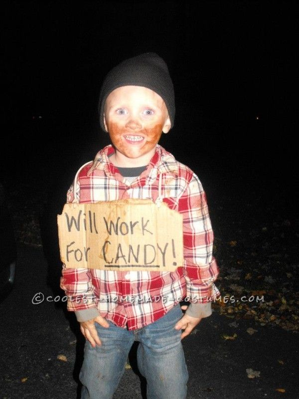cheap and easy little bum costume idea for a child - Halloween Costume Ideas For Women Cheap And Easy