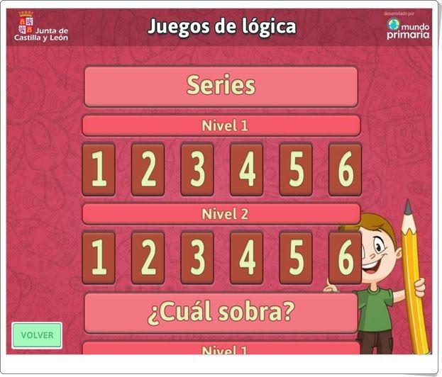 """""""Juegos de Lógica"""" (Vacaciones de Verano de Infantil)"""