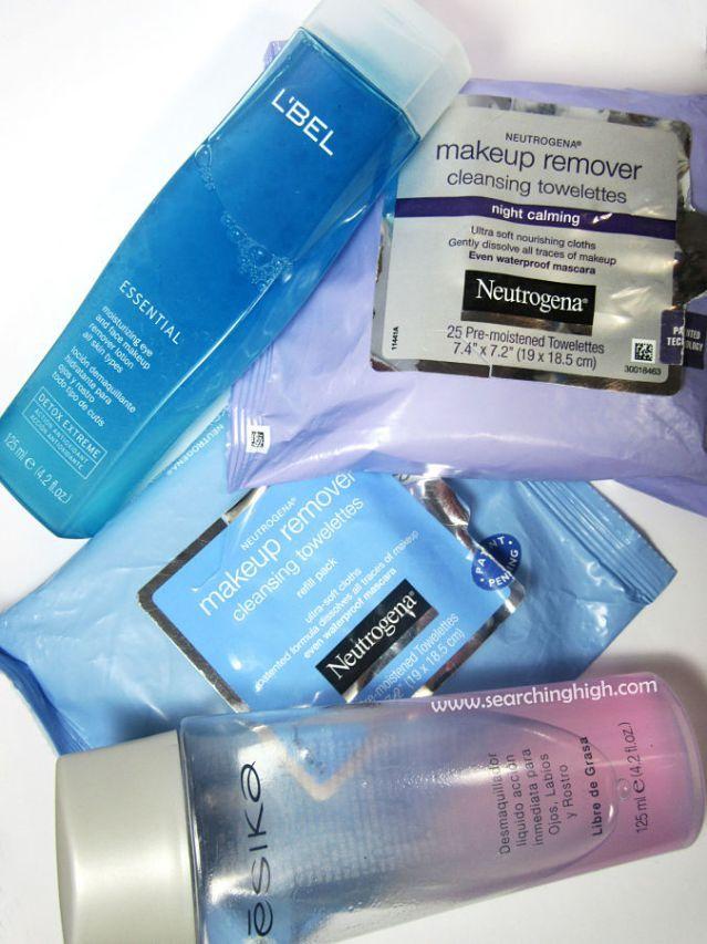 Demaquillantes: L'bel, Ésika y toallitas removedoras Neutrogena - Searching High  #review #bbloggers #beauty #makeup #beautyroutine #ésika #l'bel #neutrogena #belleza #rutina #maquillaje #español #reseña #demaquillantes #desmaquillantes