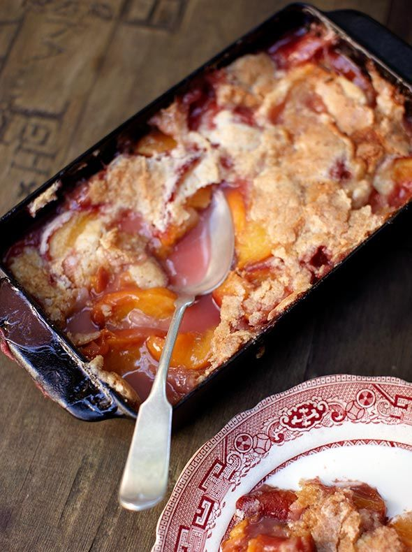 """Peach Cobbler Recipe (""""The finest peach cobbler that I have ever, or will ever, eat."""" """"WOW!"""" """"An 11 out of 10."""" """"The crisp, crackled, candy-like crust that sits atop this masterpiece was a dessert unto itself."""" """"EVERYONE who has tasted this peach cobbler has fallen COMPLETELY in love with it."""" """"Unrivaled in the world of cobblers."""" That's what folks are saying about this peach cobbler recipe.)"""