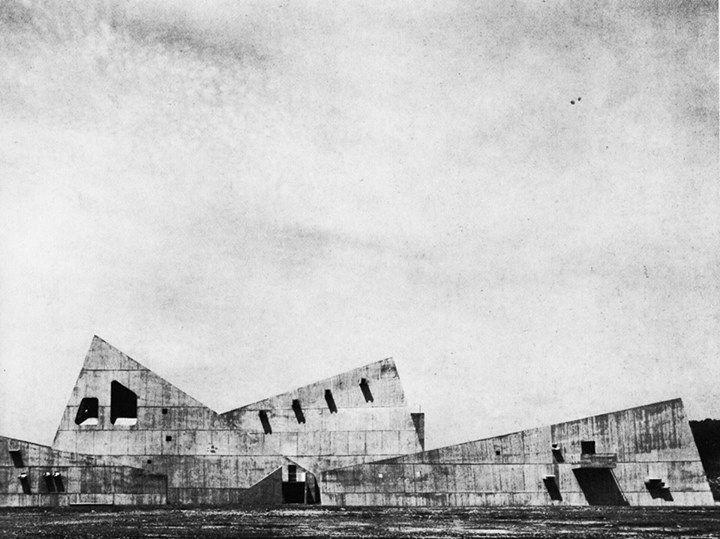 Vaumm arkitekturak Cultural Center, Nichinan, Japan, 1963 Kenzo Tange
