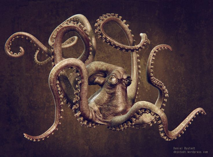 1600x1181 15572 Octopus 3d fantasy character octopus picture image digital art Octopus Picture 3d, fantasy, character, octopus