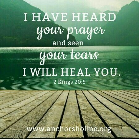 2 Kings 20 #scripture #healing #prayer