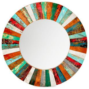 Eclectic Wall Mirrors by EcoChic Lifestyles