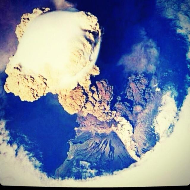 #volcán #NASA
