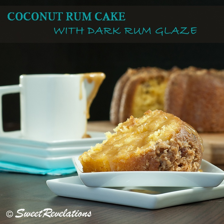 Brandy-and-Rum-Glazed Pound Cake Recipe — Dishmaps