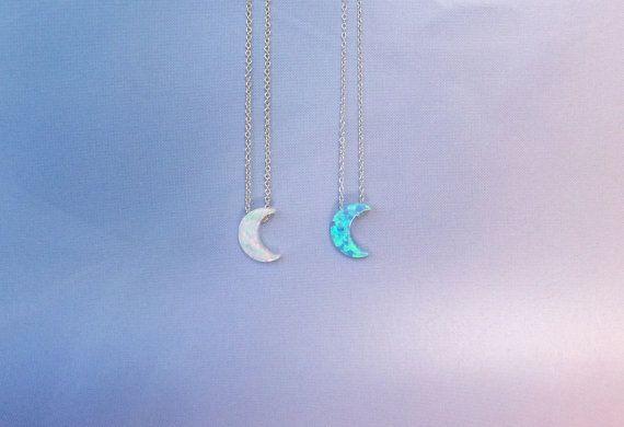 Collana opale Luna