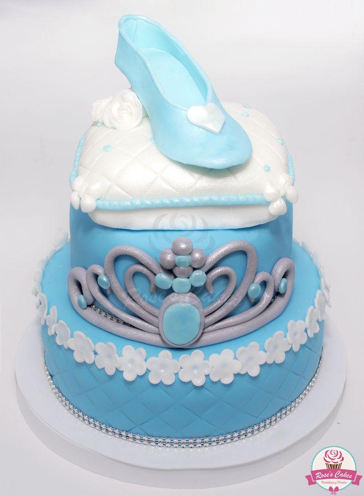 Torta cenicienta! Cinderella #fondant #cake