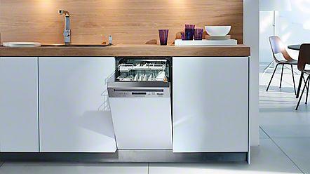 Máquinas de lavar louça de integrar