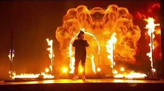 The Weeknd - The Hills - Live at The BRIT Awards 2016 - YouTube