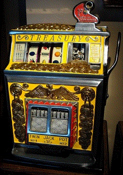 vintage slot machines, before technology