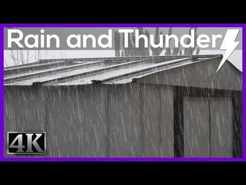 Thunderstorm Sounds for Sleep & Relaxation   Thunder & Rain Ambience   HD Nature Video - YouTube