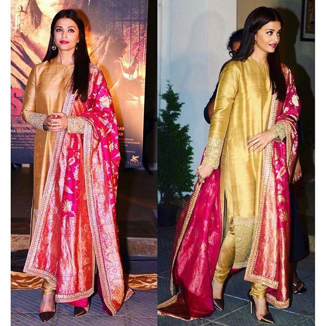 Aishwarya Rai Bachchan in Sabyasachi via @GraziaIndia