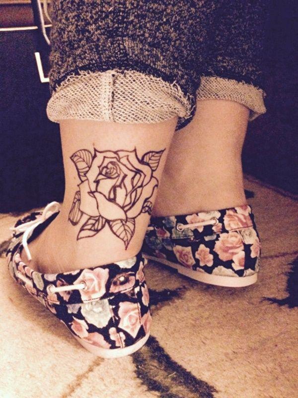 Inner Ankle Tattoo Pain : inner, ankle, tattoo, Tattoo, Design, Ideas