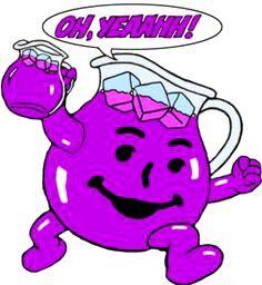Purple Kool Aid Man