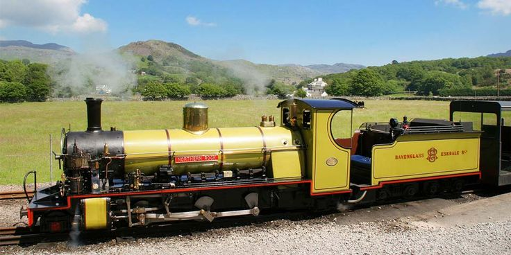 Travelzoo: 101 Things to do in The Lake District -- 22: Head Into the Hills by Steam - Take in mountain views aboard the Ravenglass & Eskdale Railway