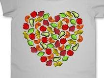koszulka-Żelkowe serce