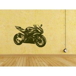Hole dir deinen eigenen Wandsticker Motorrad Supersportler auf ~ http://www.wandstickerdirekt.de/fahrzeuge/wandsticker-motorrad-supersportler.html ~ #wand #sticker #wandsticker