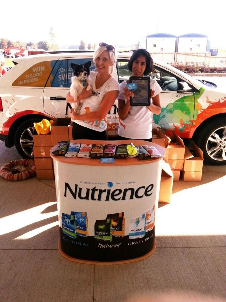 Keep an eye out of the #Nutrience vehicle and street team! They are handing out samples and entering people in the #NourishTheBody Sweepstakes!