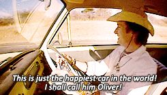 Ah Oliver. Hammond really did get attached to Oliver on this adventure.