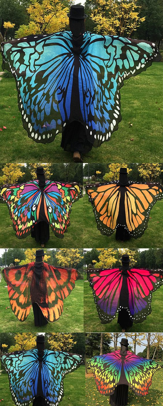 Butterfly Wing Cape Pashmina