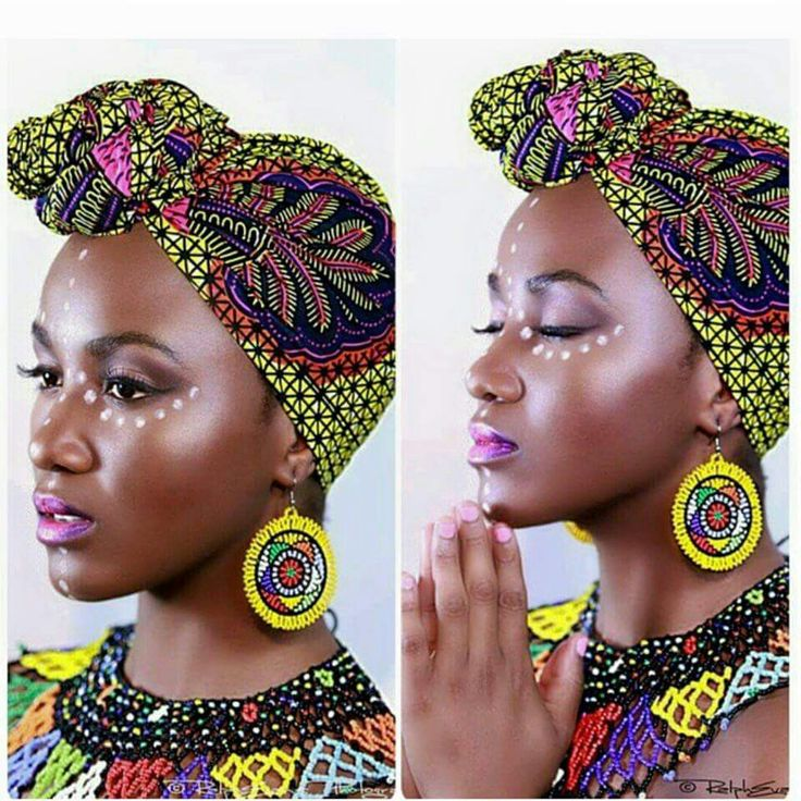 African Head Wrap.