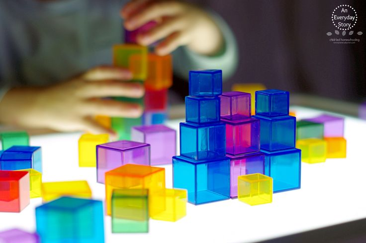 Transparent Cubes (An Everyday Story)