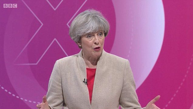 Theresa May says Diane Abbott 'can't add up' and calls John McDonnell a 'Marxist' on BBC Question Time.