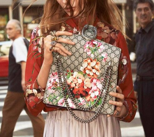 Gucci's new Fall/Winter 2015-16 campaign. Click on the image to read more.