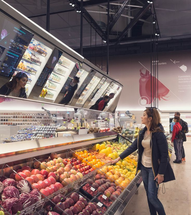 Carlo ratti 39 s future food district at expo 2015 contains a for Milan food market