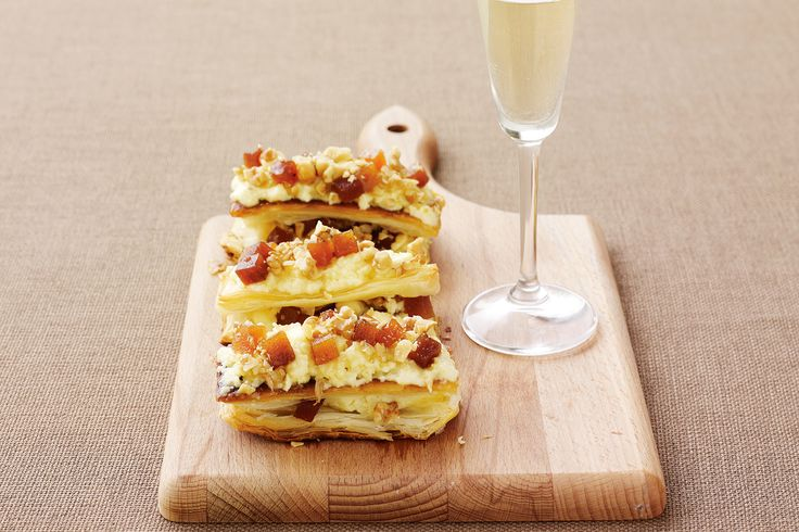 CHEDDAR, QUINCE AND WALNUT MILLEFEUILLE  http://www.delicious.com.au/recipes/cheddar-quince-walnut-millefeuille/c79ea114-6e0a-444a-a325-8426f16d0e84?current_section=recipes&adkit_ref=/collections/maggie-beer-collection/3dbc44d0-b931-475c-b9ee-5b8177e1cf3c