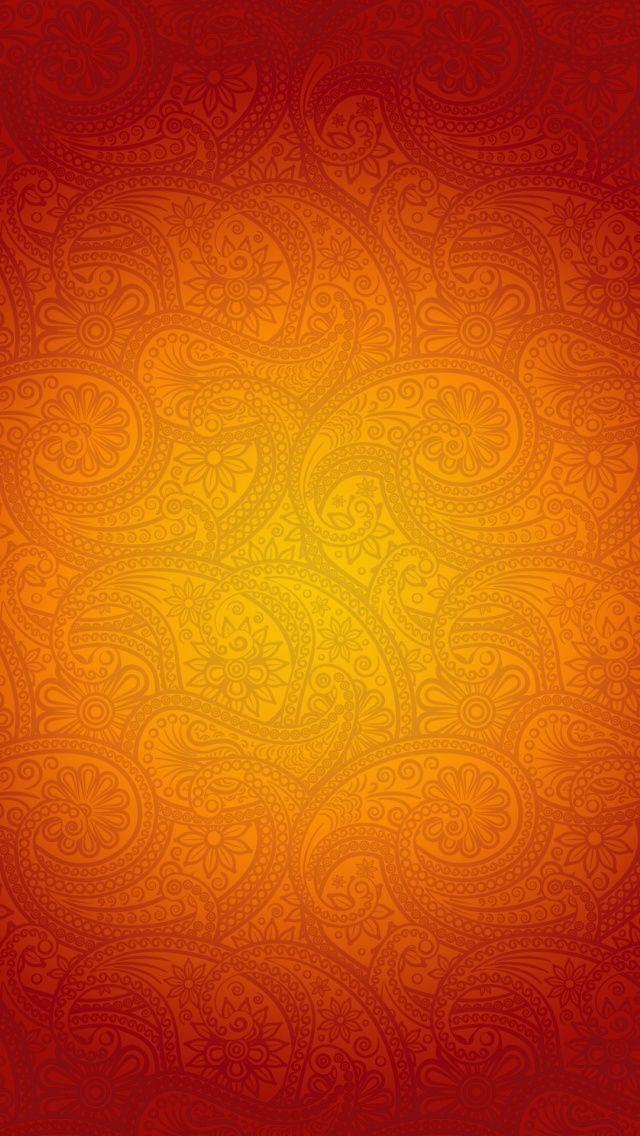 iPhone 5 Wallpapers Orange Patterns iPhone 5 Wallpaper