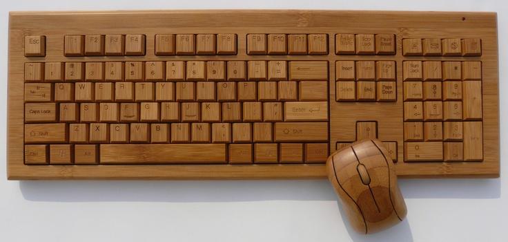 Bamboo Keyboard  ---- I found this on www.izenbamboo.com