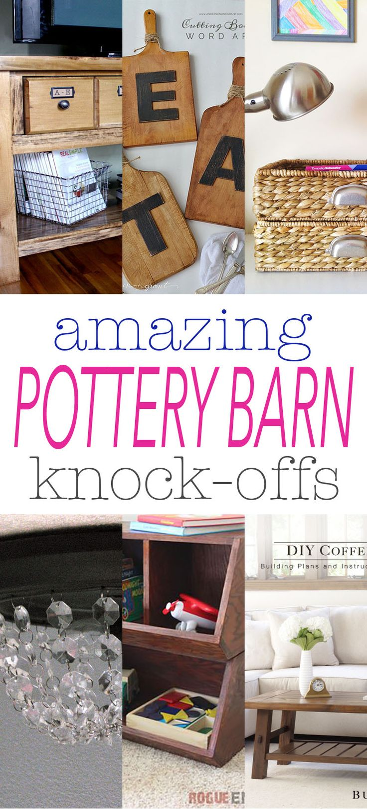 Best 25 pottery barn mirror ideas on pinterest pottery barn look pottery barn bath and - Modern furniture knock offs ...