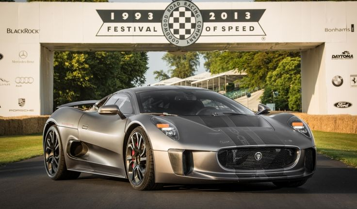 La Jaguar C X75 Seduit Le Public De Goodwood Super Cars Jaguar