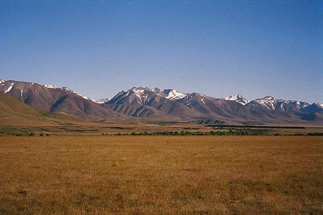 Mackenzie Country! In this area, the epic battle of Pelennor Fields was filmed! It is located on private land but a tour can be arranged in the nearby town of Twizel.
