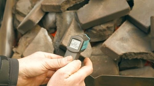 Heating rocks for the Red Rocks Reserve 2012
