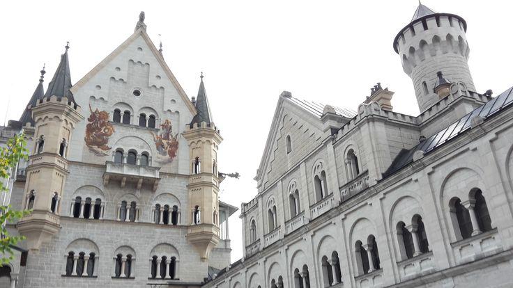 Schloss Neuschwanstein August 2015