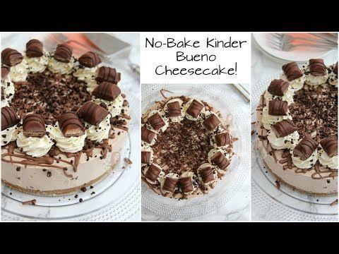 No-Bake Kinder Bueno Cheesecake! - Jane's Patisserie