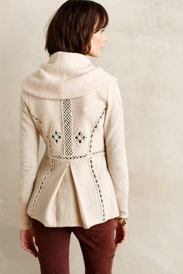Angel of the North Soutache Trim Jacket