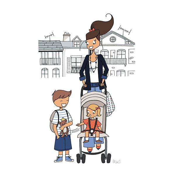 les 41 meilleures images du tableau dessins illustrations humour famille sur pinterest dessins. Black Bedroom Furniture Sets. Home Design Ideas