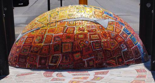 Sfera mosaico vetro marmo mosaic